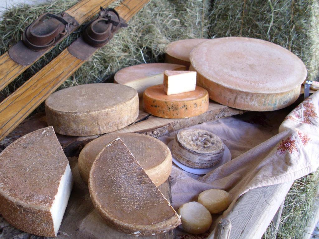 sélection de fromages artisanaux servi à l'Hotel du Levant de Paris